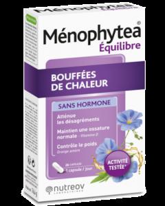 Nutreov Ménophytea Bouffées De Chaleur Sans Hormone 28 Capsules