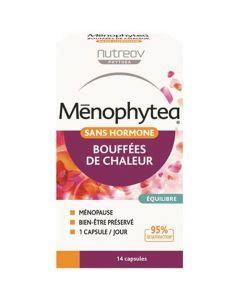 Menophytea Bouffées De Chaleur Sans Hormone Boite de 14 Capsules