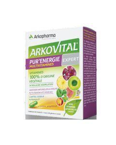 Arkopharma Arkovital Pur'Energie Expert 10 Vitamines et 5 Minéraux 60 gélules