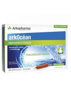 Arkopharma Arkocéan Magnésium Marin 20 ampoules de 10ml