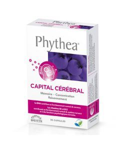 Phythea Capital Cérébral Boite de 30 Capsules