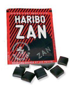 Haribo Zan Pain Zan Anis/Menthe - 12G