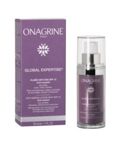 Onagrine Global Expertise Fluide SPF 15 Flacon 30ml