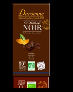 Dardenne Tablette Chocolat Noir Bio 50% Cacao 200g