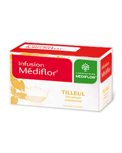 Médiflor Infusions Tilleul 24 Sachets