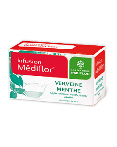 Médiflor Infusions Verveine - Menthe 24 Sachets