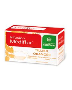 Médiflor Infusions Tilleul - Oranger 24 Sachets