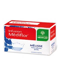 Médiflor Infusions Mélisse 24 Sachets