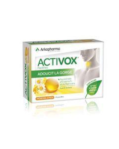 Arkopharma Activox Adoucit La Gorge Miel Citron 24 pastilles