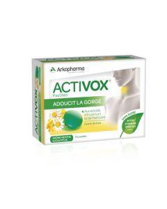 Arkopharma Activox Adoucit La Gorge Menthe Eucalyptus 24 pastilles