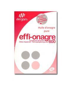Dergam Effi-onagre 600 60 Capsules