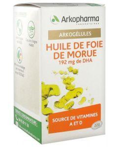 Arkopharma Arkogélules Huile de Foie de Morue 220 capsules