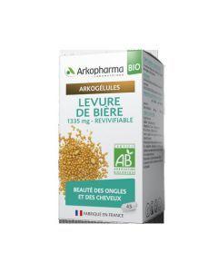 Arkopharma Arkogélules Bio Levure de Bière 45 gélules