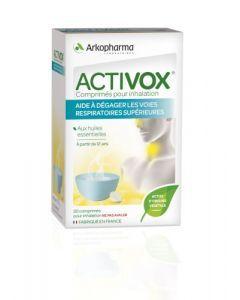 Arkopharma Activox Nez et Gorge Huiles Essentielles Inhalation 20 comprimés