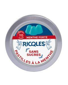 Ricqles Pastilles Menthe Sans Sucres - Boîte 50G