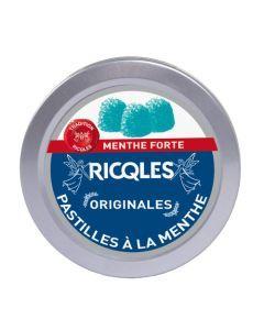 Ricqles Pastilles Menthe Sucre - Boîte 50G