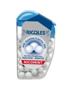 Ricqles Nicomint - Dragée Réglisse/Menthe - Etui 18G