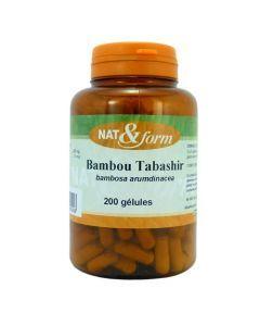 Nat&Form Bambou Tabashir 120 Gélules
