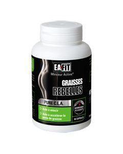 EAFIT Pure Cla Graisses Rebelles 90 Capsules