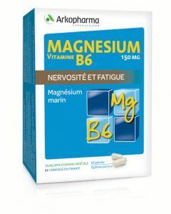 Arkopharma Magnésium et Vitamine B6 60 gélules