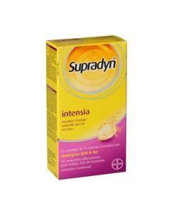 Supradyn Intensia Vitamines et Minéraux Q10 et Fer 30 Comprimés Effervescents