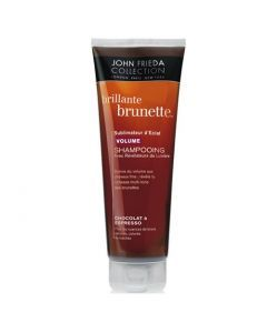 John Frieda Brillante Brunette Shampooing Sublimateur d'Éclat Volume Chocolat à Espresso 250ml