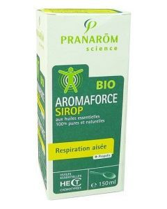Pranarôm Aromaforce Bio Respiration Aisée Sirop 150ml