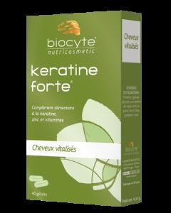 Biocyte Kératine Forte 40 Gélules