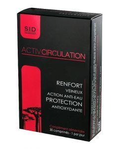 SID Nutrition Activ Circulation 30 Comprimés