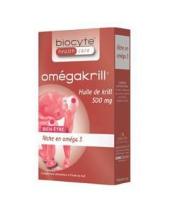 Biocyte Omegakrill 30 Capsules