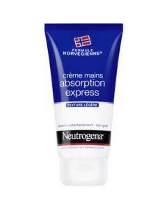 Neutrogena Crème Mains Absorption Express 75ml