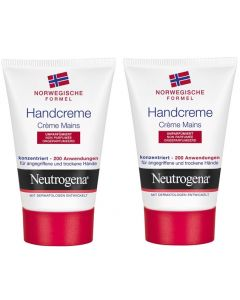 Neutrogena Crème Mains Non Parfumée 50ml X2
