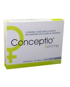Granions Conceptio Femme 30 Gélules + 30 Capsules