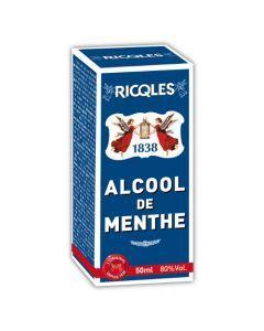 Ricqles Alcool De Menthe - Flacon Rond 5Cl