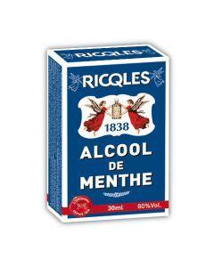 Ricqles Alcool De Menthe - Flacon De Poche 3Cl