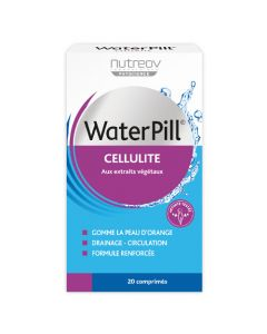 Nutreov Physcience Waterpill Cellulite Boite 20 Comprimés