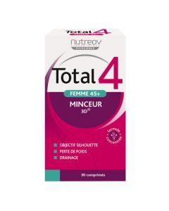 Nutreov Physcience Total 4 Femme 45+ Boite 30 Comprimés