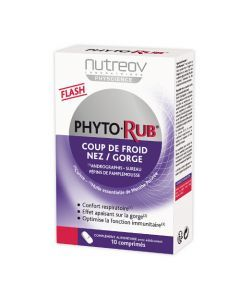 Nutreov Physcience Phytorub Boite 10 Comprimés