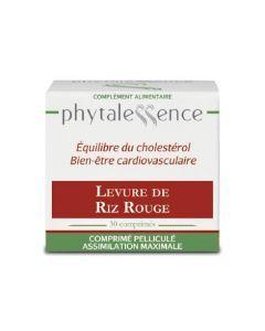 Phytalessence Levure de Riz Rouge 30 Comprimés