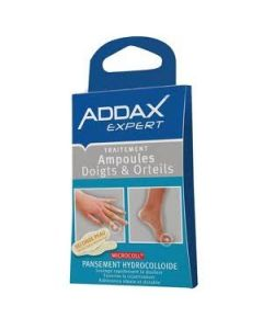 Addax Expert Pansements Hydrocolloides Ampoules Doigts Orteils X 6