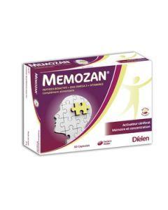 Mémozan Mémoire et Vitalité Intellectuelle 60 Capsules
