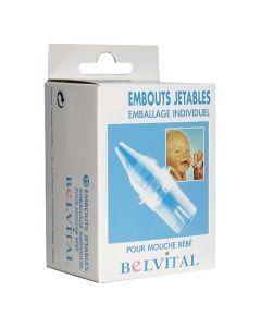 Belvital Embouts Jetables  Pour Mouche Bébé  X 20