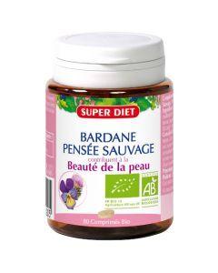 Super Diet Bardane - Pensée Sauvage Bio - 80 Comprimés