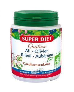 Super Diet Quatuor Cardiovasculaire 150 Gélules