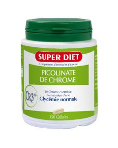 Superdiet Picolinate De Chrome - 150 Gélules