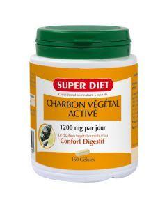 Super Diet Charbon Végétal - 150 Gélules