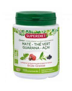 Super Diet Quatuor Mate Brule Graisse Bio 150 Comprimés