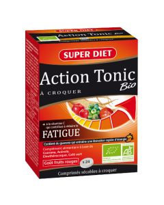 Super Diet Action Tonic Bio - 24 Comprimés à Croquer