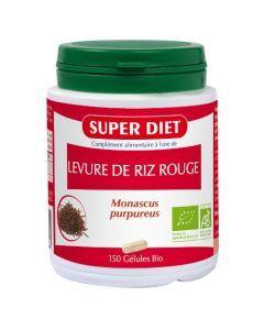 Super Diet Levure De Riz Rouge Bio - 150 Gélules