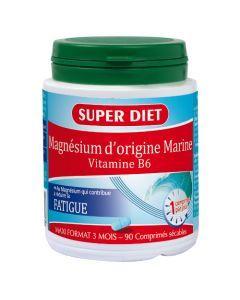 Super Diet Magnésium Marin + Vitamine B6 - 90 Comprimés